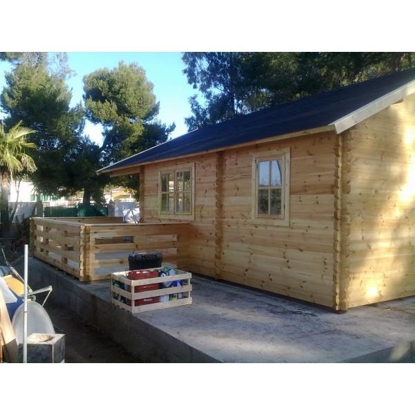 Montaje casa de madera asti en palma de mallorca - Montaje casa de madera ...