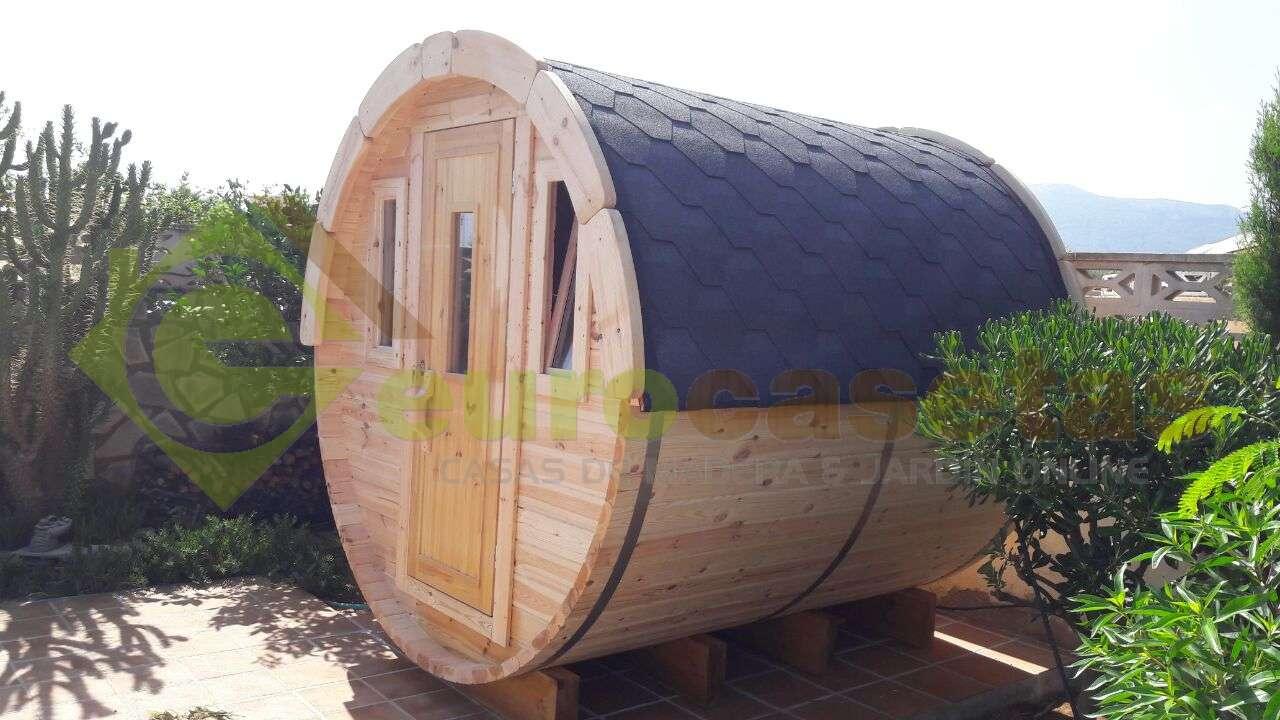 Caseta Camping Barril 2,4 PLUS