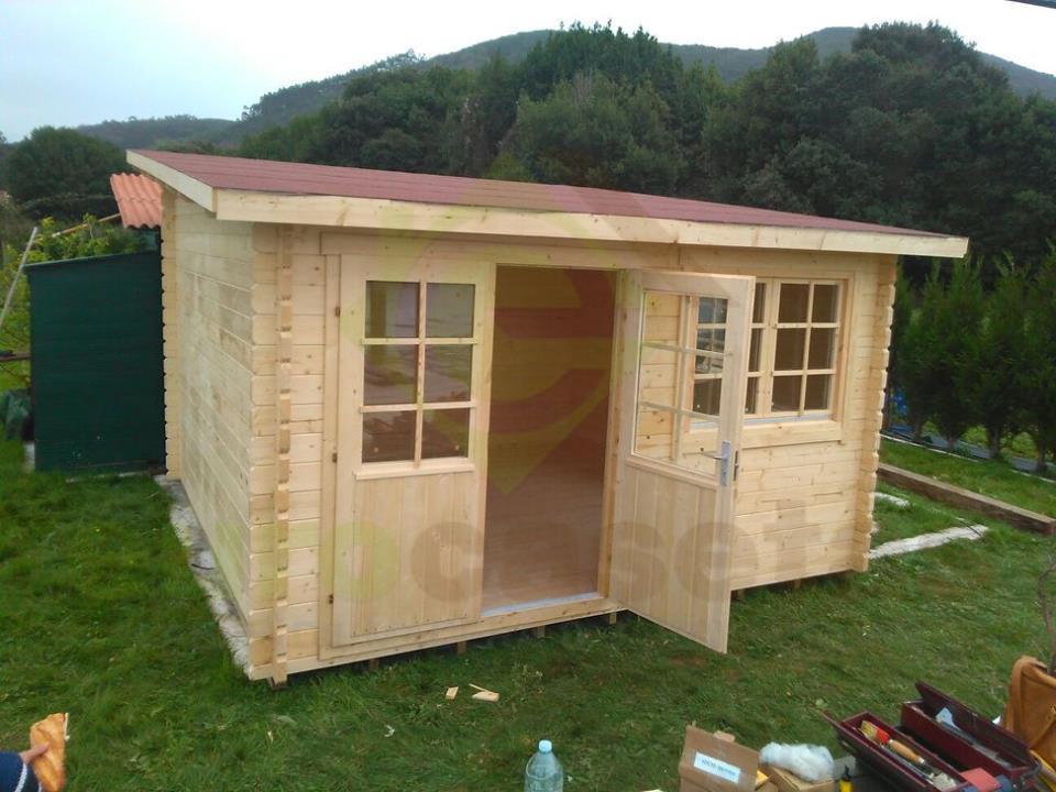 montaje caseta de madera a medida en cantabria
