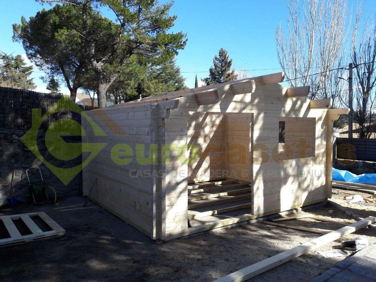 Montaje casa de jardin miranda 5x4 70 mm en madrid for Casetas de jardin baratas madrid