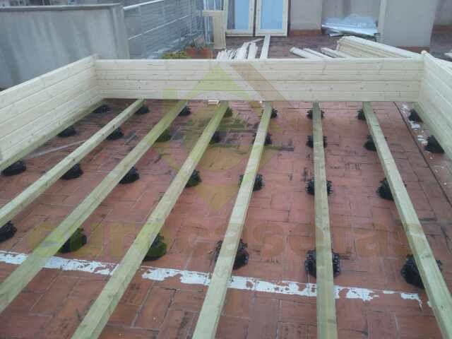 Montaje casa de jard n trinity eurocasetas casas de for Casetas de jardin con suelo