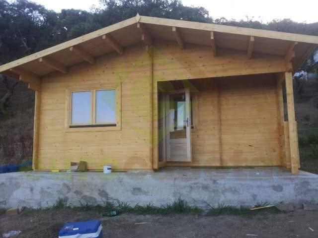 Montaje bungalow fay eurocasetas casas de madera - Casas de madera cadiz ...