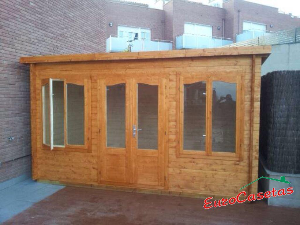 Montaje caseta de jard n zoey eurocasetas casas de for Caseta jardin pvc