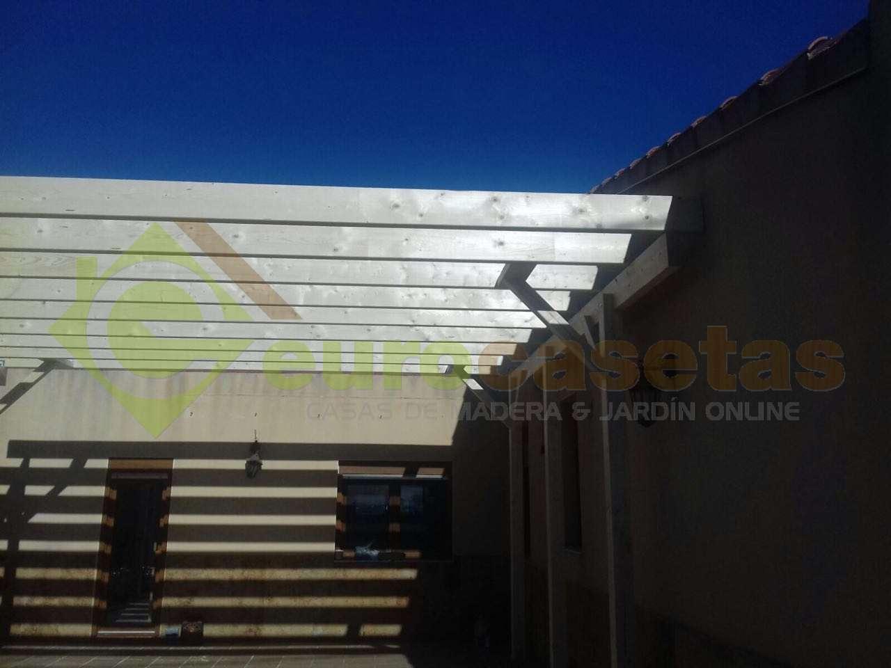 CARPORT DE MADERA KARL 20,6 m2
