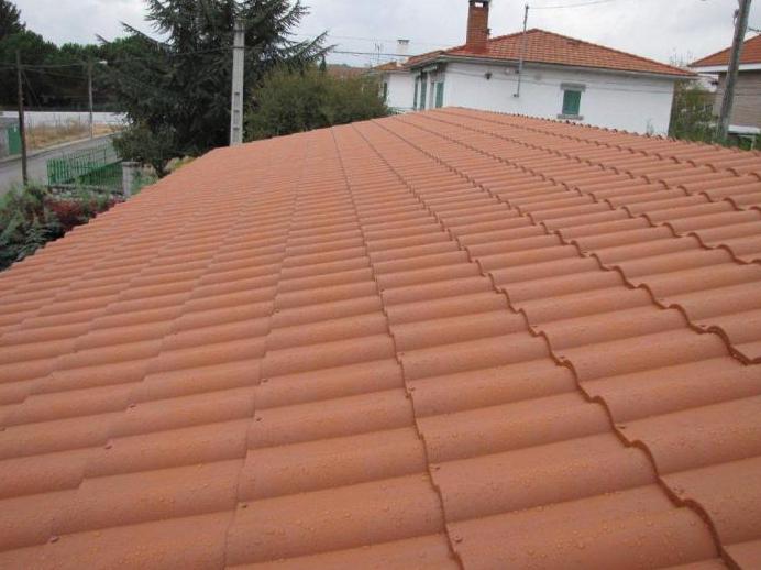 Teja ligera roofy ejemplo instalacion