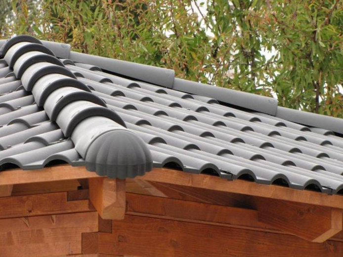 Teja ligera de plastico roofy